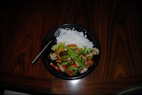 Vegetable and Braised Tofu Stir Fry
