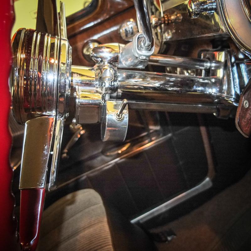 steering column view